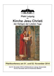 2014-11 Herbstpfahlkonferenz