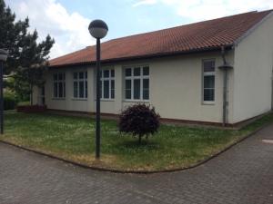 Seitenansicht Gemeindehaus Erfurt